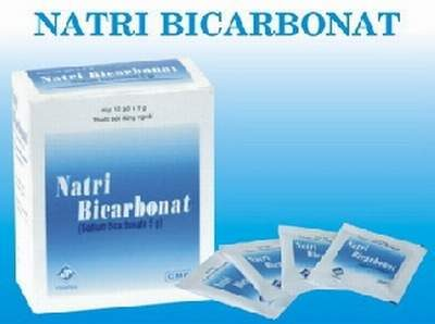 Natri Bicarbonat trị tưa lưỡi