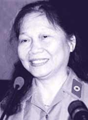 Chị Ngô Thị Oanh