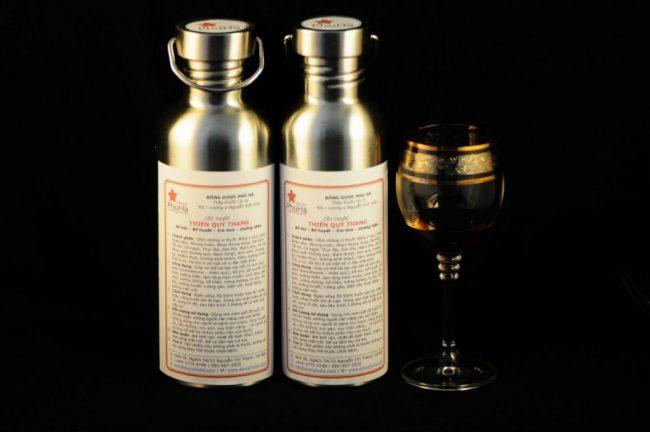 Cốt thuốc Thiên Quý đóng chai 750ml và 1000ml