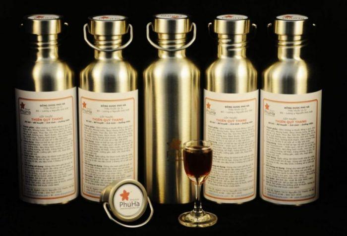 Phú Hà Thiên Quý Thang – Thuốc đông y ngâm rượu, bổ khí, bổ huyết, ích tinh, dưỡng thần