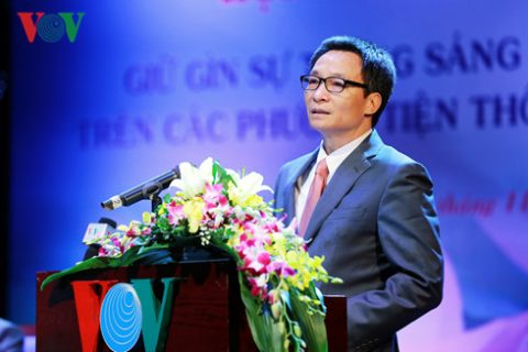 """BS Nguyễn Đức Kiệt tham dự hội thảo """"Giữ gìn sự trong sáng của tiếng Việt trên các phương tiện thông tin đại chúng"""""""